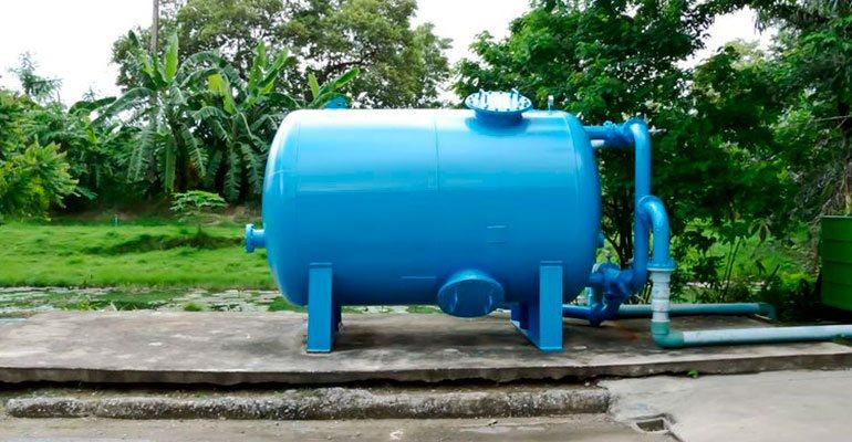 Revisión de aljibes de agua potable